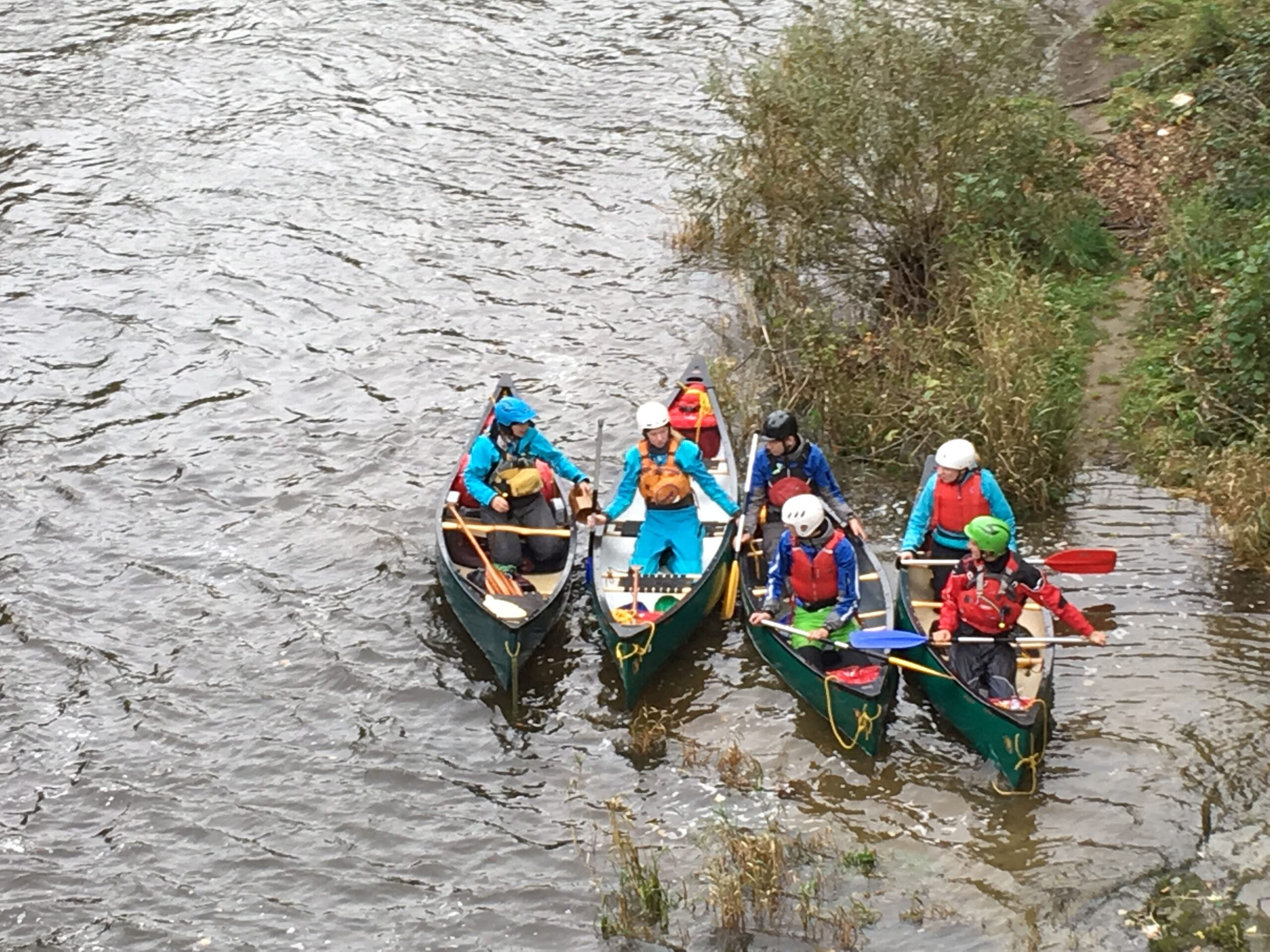 Canoe COaching on the Severn