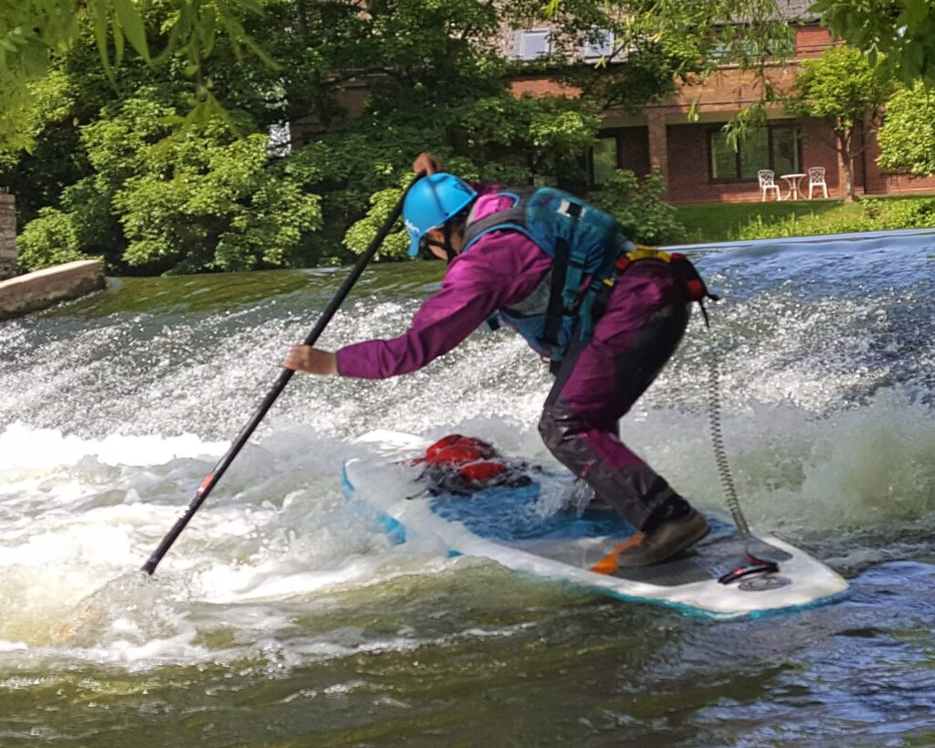 White Water Stand Up Paddleboarding in Stratford