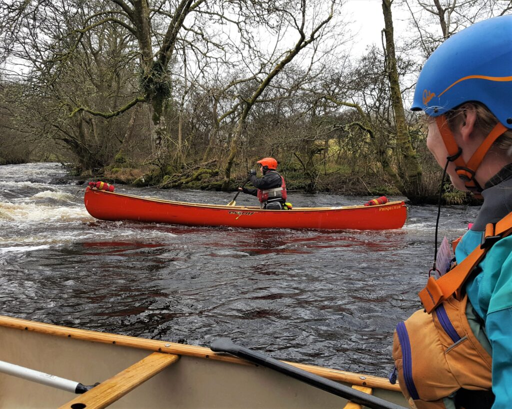 white water canoe coach training