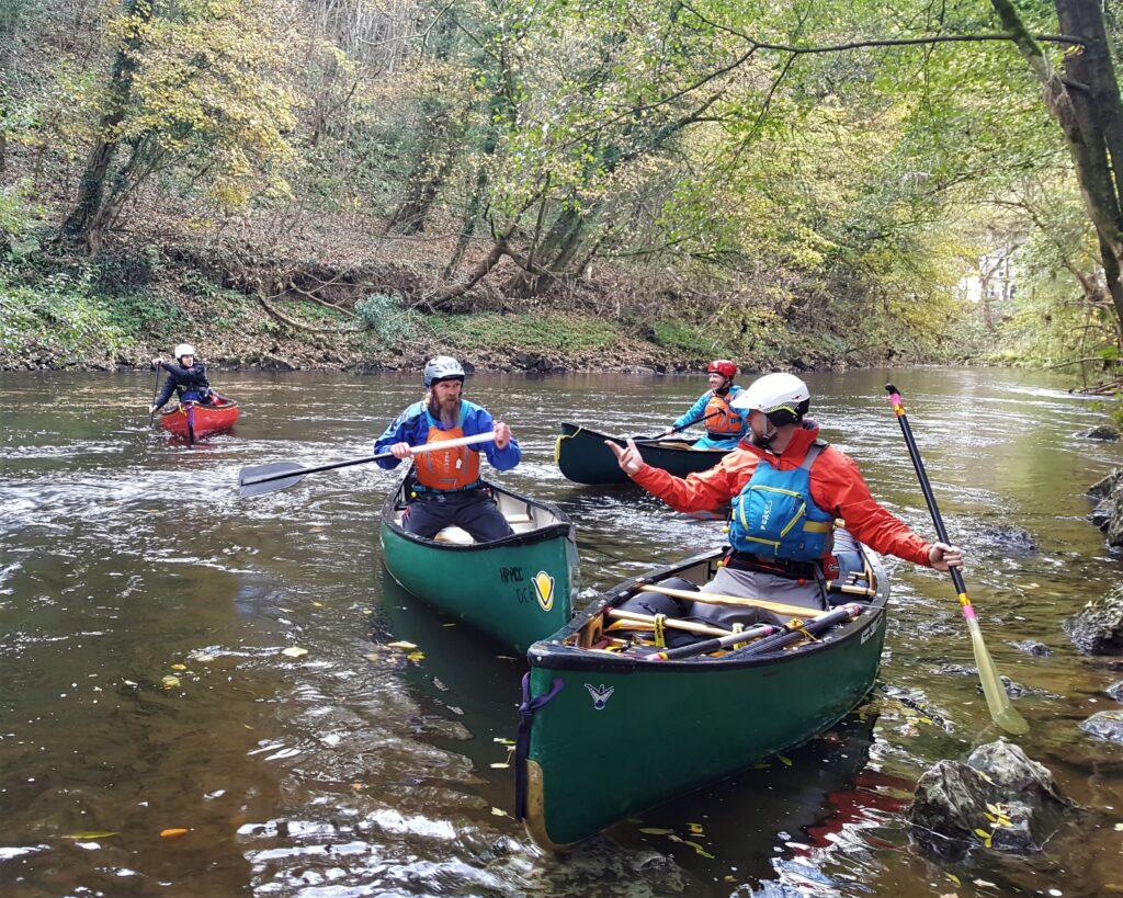 Canoe Coach Training